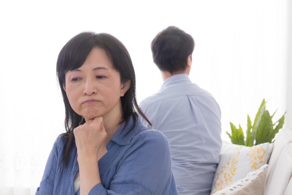 熟年離婚のイメージ
